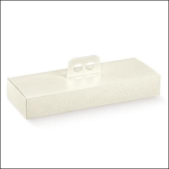 Schachtel - Porta Strudel - Dekor Pelle Bianco