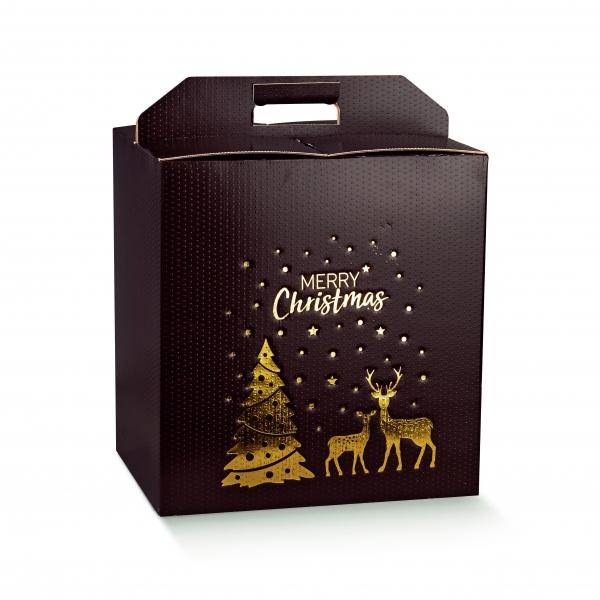 Weihnachtsverpackung, Verpackung für Flaschen (Art.Nr. 36292)
