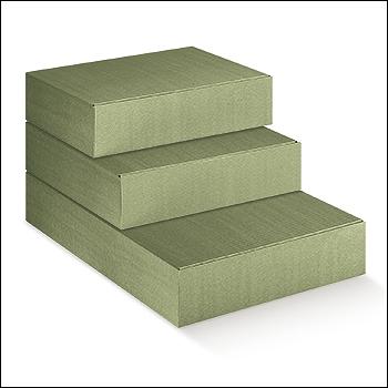 Flaschenkarton - Dekor Linea Verde