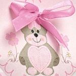 Dekor Teddy Bear Rosa