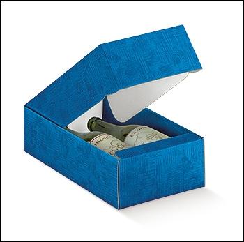 Flaschenkarton - Dekor Tela Bluette