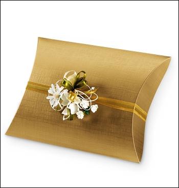 Schachtel Fixbox - Busta - Dekor Seta Oro