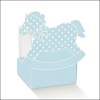Schachtel - Cestello cavallo a dondolo - Dekor Atelier Azzurro