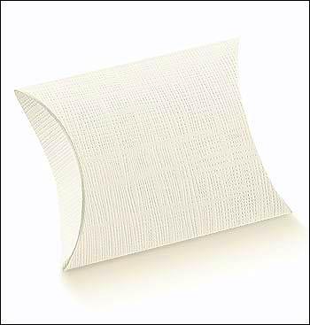 Schachtel Fixbox - Busta - Dekor Seta Bianco