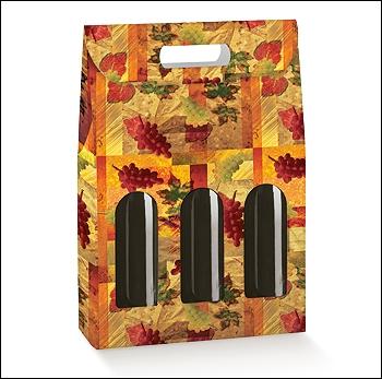 Flaschenkarton - Dekor Vendemmia