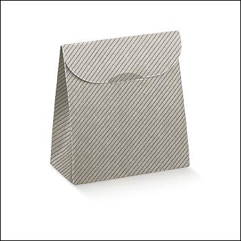 Schachtel - Sacchetto - Dekor Linea Tortora