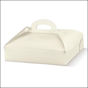 Schachtel - Portapaste - Dekor Pelle Bianco