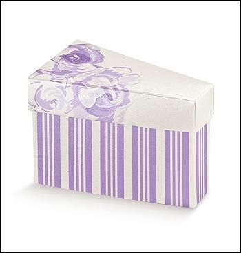 Schachtel Törtchen - Fetta Torta - Dekor Nozze