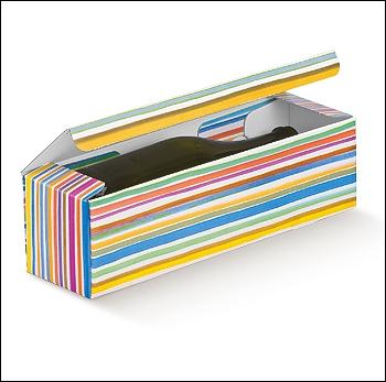 Flaschenkarton - Dekor Multicolor