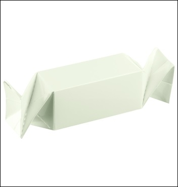 Schachtel - Caramella - Dekor Bianco