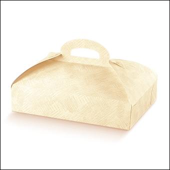 Schachtel - Portapaste - Dekor Tela Neutro