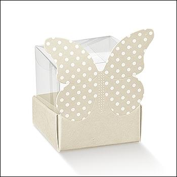 Schachtel - Cestello Farfalla Pois - Dekor Atelier Tortora