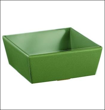 Presentkorb VASSOIO CONICO - Dekor Linea Verde