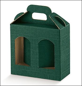 Dosenverpackung PORTAVASETTI - Dekor Seta Verde