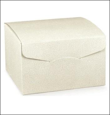 Schachtel - Segreto - Dekor Pelle Bianco