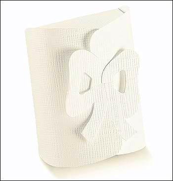 Schachtel - Fiocco - Dekor Seta Bianco