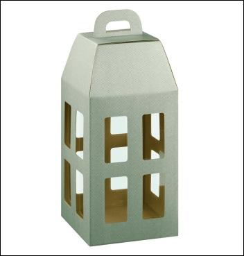 Schachtel - Lanterna - Dekor Linea Tortora
