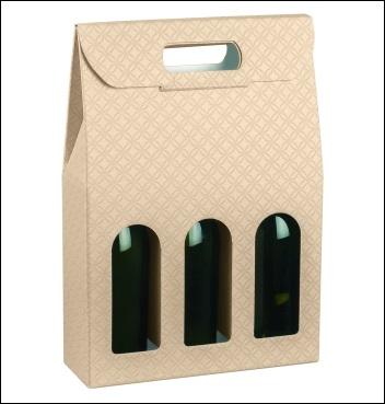 Flaschenkarton - Dekor Matelasse Nudo