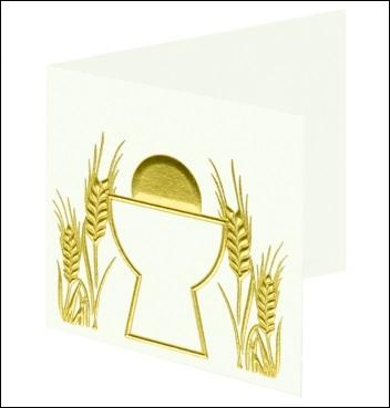 Kärtchen - Bigliettino - Dekor Croce