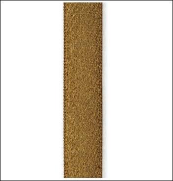 Geschenkband - RASETTO - 7 mm x 100 m - Dekor Marrone