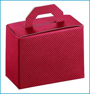 Schachtel - Valigetta - Dekor Bordeaux
