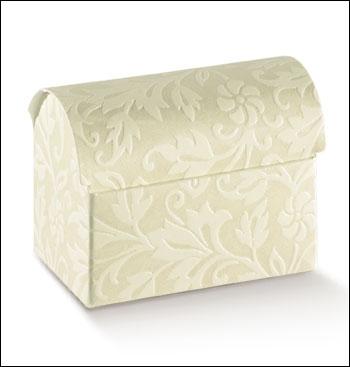Schachtel Truhe - Cofanetto - Dekor Diamante