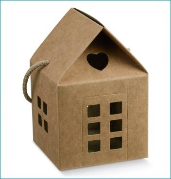 Schachtel mit Kordel - Casetta c/cordino - Dekor Avana