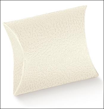 Schachtel Fixbox - Busta - Dekor Pelle Bianco