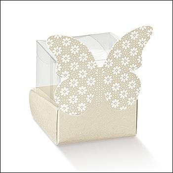 Schachtel - Cestello Farfalla Fiore - Dekor Atelier Tortora