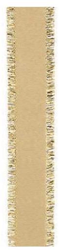 Geschenkband - NASTRO FRANGE - 22 mm x 25 m - Dekor Oro