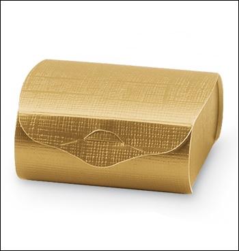 Schachtel - Couvette - Dekor Seta Oro