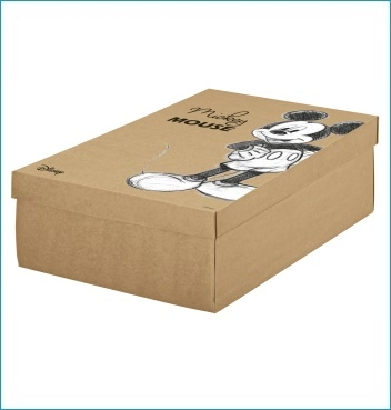 Schachtel mit Deckel - F/C-dp Easy - Dekor Mickey Vintage