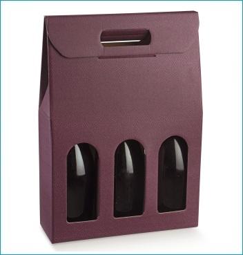 Flaschenkarton - Dekor Skin Vinacccia