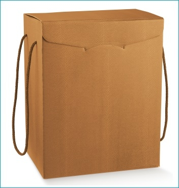 Schachtel mit Kordel - Segreto c/cordini - Dekor Skin Desert
