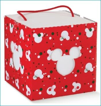 Schachtel mit Kordel - IN con cordino - Dekor Mickey's Christmas