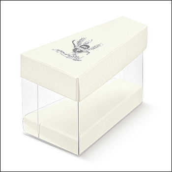 Schachtel Törtchen - Fetta Torta - Dekor Signum Argento