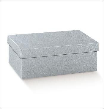Schachtel mit Deckel - FC-dp - Dekor Pelle Grigio