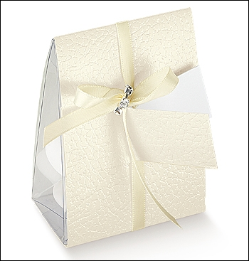 Schachtel - Vela - Dekor Pelle Bianco
