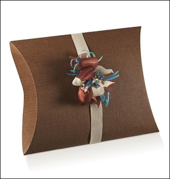 Schachtel Fixbox - Busta - Dekor Seta Marrone