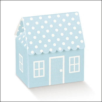 Schachtel - Casetta Pois - Dekor Atelier Azzurro