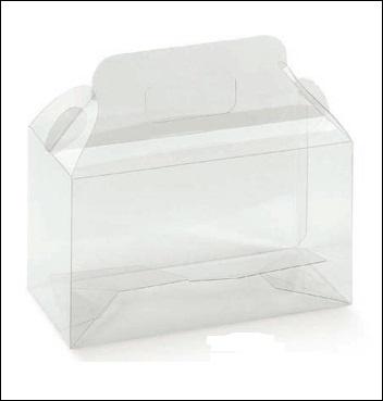 Schachtel - Valigetta - Dekor Trasparente