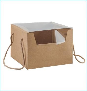 Schachtel mit Kordel - PRESTIGE c/cordini - Dekor Avana