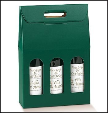 Flaschenkarton - Dekor Verde