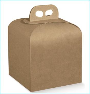 Geschenkverpackung - Portapanettone - Dekor Avana