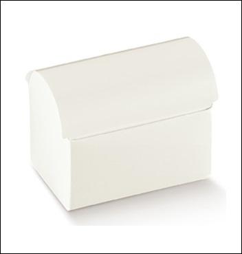 Schachtel Truhe - Cofanetto - Dekor Bianco