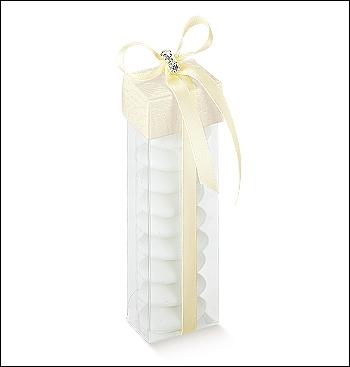 Schachtel mit Deckel - Mix - Dekor Pelle Bianco