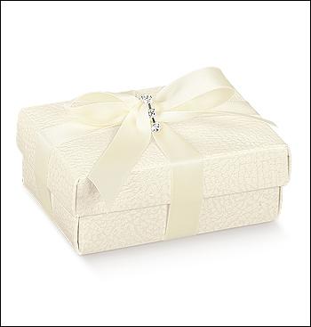 Schachtel mit Deckel - FC-dp - Dekor Pelle Bianco