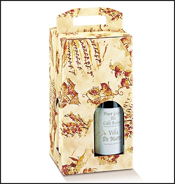 Flaschenkarton - Dekor Vigna