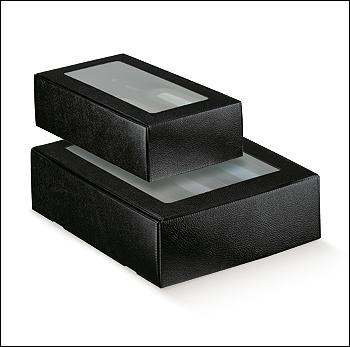 Flaschenkarton - Dekor Pelle Nero