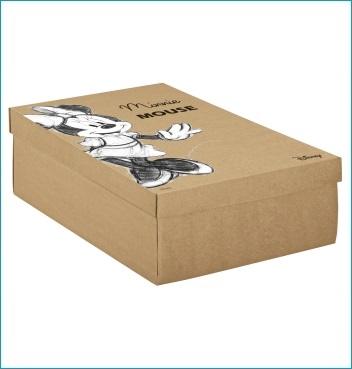 Schachtel mit Deckel - F/C-dp Easy - Dekor Minnie Vintage